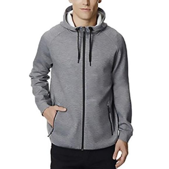 32 Degrees Other - 32 Degrees Men's Gray Fleece Tech Hoodie